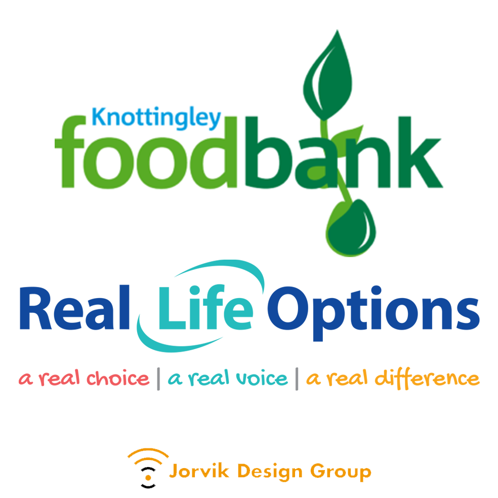 Knottingley Food Bank and Real Life Options
